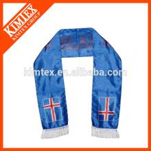 Fashion custom printing football fan polyester scarf