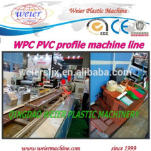 WPC Wood Plastic composite panel Profile Line