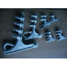 Abrazadera de tensión del tipo del perno de alto voltaje de la aleación de aluminio de Nll