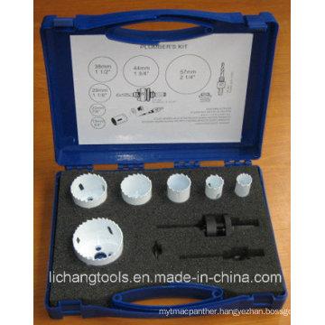 Plumbers Bi - Metal Hole Saw Kit