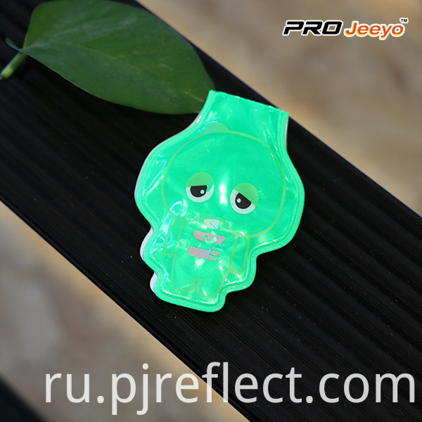 Reflective Animal Shape Elephant Led Light Magnetic Clipcj Pvc006