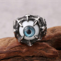 Amulet Jewelry Turkish Mens Evil Eye Ring