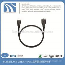 TIPO C USB 3.1 MACHO A MICRO B MASCULINO CABLE - REVERSIBLE TYPE-C ADAPTADOR CONVERTIDOR