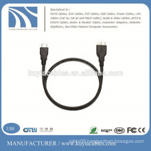 TYPE C USB 3.1 MALE TO MICRO B MALE CABLE - REVERSIBLE TYPE-C ADAPTER CONVERTER