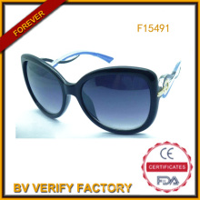 Personalizadas gafas de sol con lente polarizada comercio seguro ' (F15491)