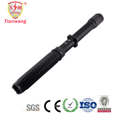 Police Expandable LED Flashlight Stun Gun