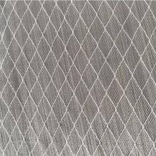 vente chaude 160CM 23GSM 100% nylon tissu de maille brodé