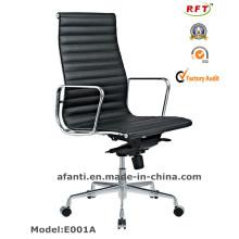 Современный офис Эргономичный представительский алюминиевый отель с вращающимся кожаным креслом (E001A)