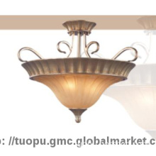 Ancient Style European resin Pendant Lamp Shades with Hand-paint