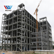 2020 Customized Steel Frame Structure Prefabricated High Rise Steel Building For Hotel Office Shop Apartment