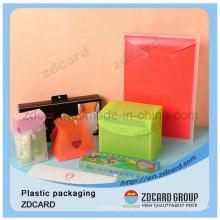 Caixa plástica transparente de empacotamento bonita do animal de estimação claro do PVC