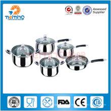 10 шт Нержавеющая сталь ЭКО-дружественных посуда