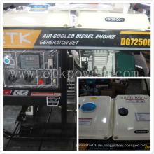 6.0kw einfach zu bedienen Diesel Generator Set