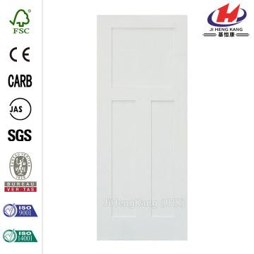 Craftsman Shaker 3 Panel Primed Solid Core Interior Door