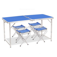 Adjustable Height Folding Table Korean Camping Folding Table