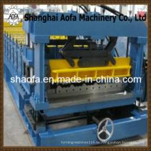 Farbe Stahl Dachziegel Rollenformmaschine (AF-G825)