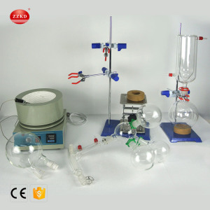 Essential+Oil+Vacuum+Short+Path+Distillation+Complete+Kit