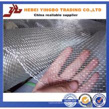 Rede de arame frisada quadrada de aço inoxidável 304
