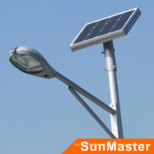 Hot Sale Highway Use 10W Solar Street Lighting System 5 Years Warranty Solar LED Street Light 3mm Thickness Pole