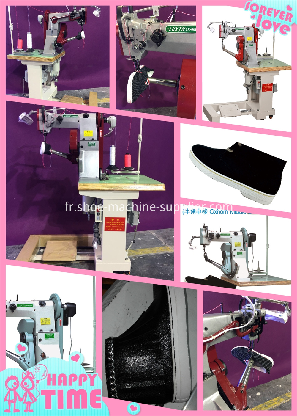 Boots Stitching Machine