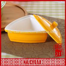 Céramique en grès Ustensiles à cuire Vaisselle à vaisselle en béton10 Poulet à tarte