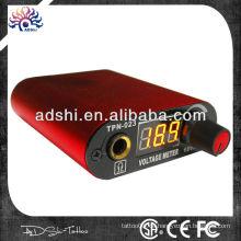 Mini-Digital-LED-Tattoo-Stromversorgung Fußpedal + Clip-Kabel