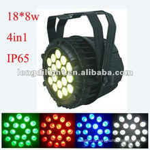 18x10W RGBW 4in1 Par LEDs ao ar livre