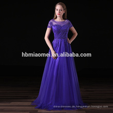 2017 Boutique Kurzarm Chiffon Damen Kleidung Plus Size Abendkleid