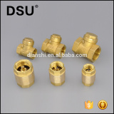 plastic or brass valve core Brass check valve brass swing check valve