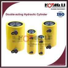 HL-S Hongli cilindro hidráulico de doble acción de acción prolongada, CE