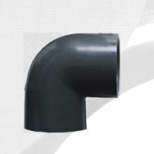 ASTM Sch80 Upvc Колено 90 ° Темно-серый цвет