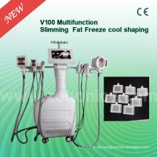 V100 für Salon Weiß Farbe Vakuum Kryolipolyse Schlankheits-Maschine