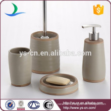 New product glazed ceramic bathroom vanity 4pcs bulk price