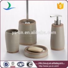 Novo produto vitrificado banheiro cerâmico vaidade 4pcs preço a granel