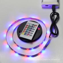 гибкий крытый пульт дистанционного управления с ip68 RGB открытый водонепроницаемый DC 5В светодиодной подсветкой светодиодные полосы освещения