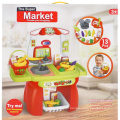 Play House Set Educational Plastic Suppermarket Table Toy