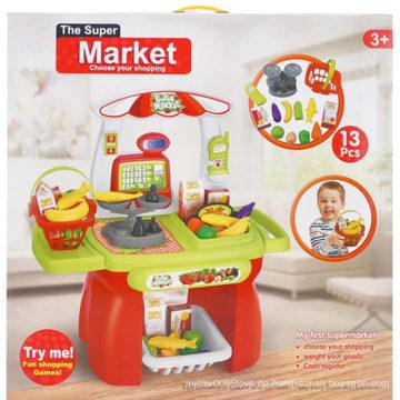 Spiel Haus Set pädagogischen Kunststoff Suppermarkt Tisch Spielzeug