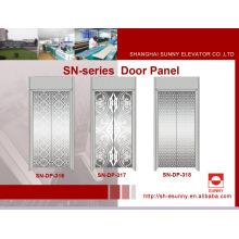 Panel de puerta de ascensor con patrón reticular (SN-DP-316)