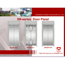 Elevator Door Panel with Reticular Pattern (SN-DP-316)