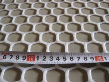 Industrial Plastic Mesh Netting and PVC Fittings for Plastic Netting