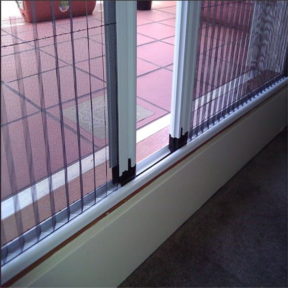 folding door with insect screen