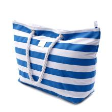 Custom Logo Beach Bag, Wholesale Shopping Tote Beach Bag, High Quality Cotton Canvas Beach Bag