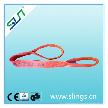 Sicherheitsfaktor 6: 1 5tx2m Auge Augen Typ Polyester Hebegurt