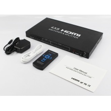EDID 1.4 HDMI Switch and Splitter 4 x 8