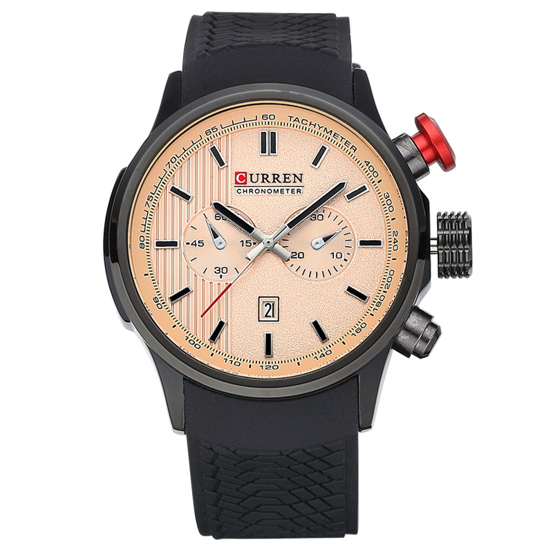 Elegant quartz watch for men