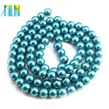 Collar colgante XULIN con cuentas de perlas de vidrio