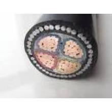 0.6 / 1kv XLPE / PVC isolamento de arame de aço blindado cabo