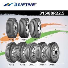 Todo el acero Radial neumático 315/80r22.5 calidad del carro para la venta