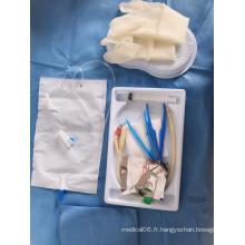 poche à urine pull-push avec valve de sortie pour adulte