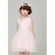 plus size flower girl dress gown scoop neckline sleeveless sexies girls in hot night dress ED781